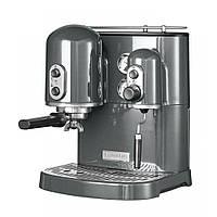 Кофемашина KitchenAid Artisan Espresso 5KES2102EMS, серебрянный медальон, фото 1