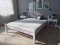 Кровать MELBI Лара Люкс Вуд Двуспальная  140200 см Розовый КМ-015-02-4роз, КОД: 1397713