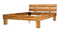 Ліжко дерев'яне дубове двоспальне Шампань 1400 * 2000