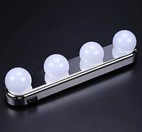 Подсветка на зеркало для макияжа, Studio Glow, 4 лампы