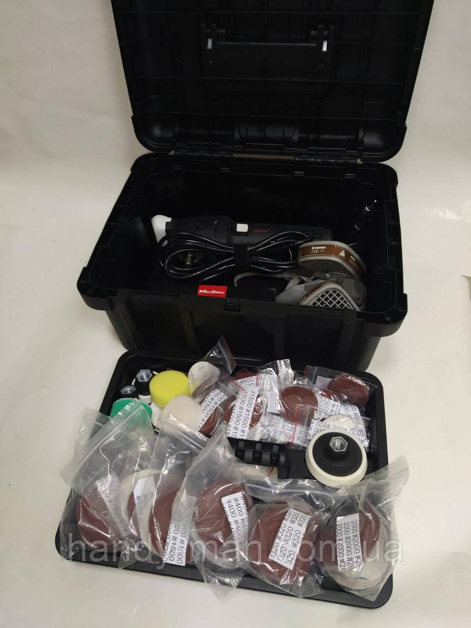 Комплект професійного обладнання та матеріалів для реставрації фар