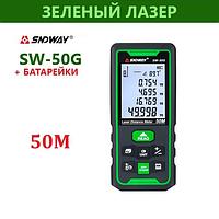 SNDWAY SW-50G лазерна рулетка далекомір до 50 метрів новий чохол