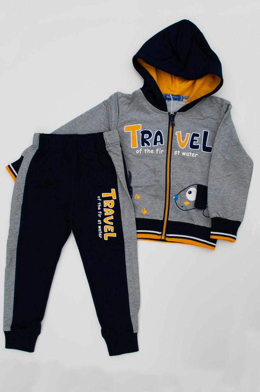 ОПТ Детские спортивные костюмы FD kids для мальчиков оптом, 4, 6, 8, 10, 12 лет. (5уп/ростовка)