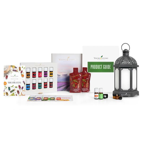 "Стартовый набор ""Премиум"" Premium с диффузором Charcoal Lantern Diffuser12 масел + диффузор"