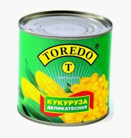 """Кукурудза  делікатесна """"Toredo"""" 340 г"""