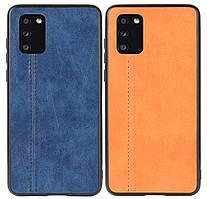 Кожаная накладка Line для Samsung Galaxy A41 SM-A415F