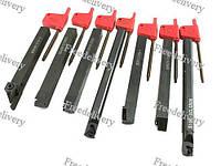 Набор из 7 токарных державок, резцов 10 мм для токарного станка