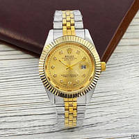 Rolex Date Just Silver-Gold, фото 1