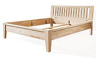 Ліжко дерев'яне дубове двоспальне Корсика 1600 * 2000