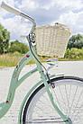 Велосипед женский городской VANESSA 26 mint с корзиной Польша, фото 5