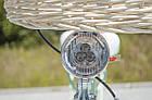 Велосипед женский городской VANESSA 26 mint с корзиной Польша, фото 7