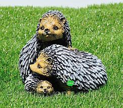 Садовая фигура Семейка ежиков, фото 2