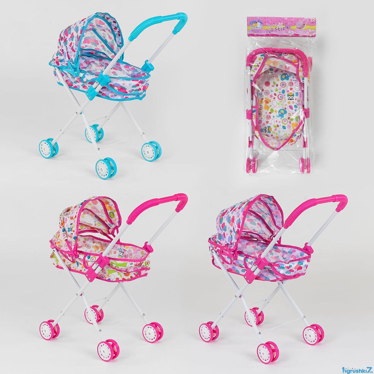 Коляска-люлька  для кукол(игр7)