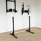 Лава (до 300 кг) + Стійки (до 200 кг) + Штанга і гантелі 65 кг, фото 5