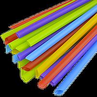 Трубочка Фреш-Смузи 10мм 19см 100шт Микс