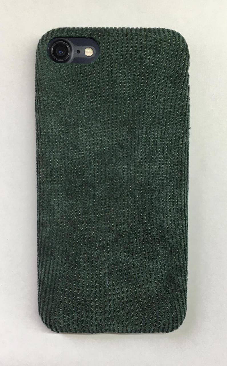 Чохол вельветовий iPhone 7 / 8 Зелений