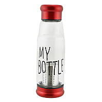 Бутылка My Bottle с ситечком для заварки 420 мл Красный hubnp213022, КОД: 955673