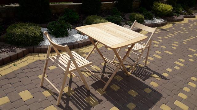 Деревянная мебель из бука/ Складные столы и стулья из бука