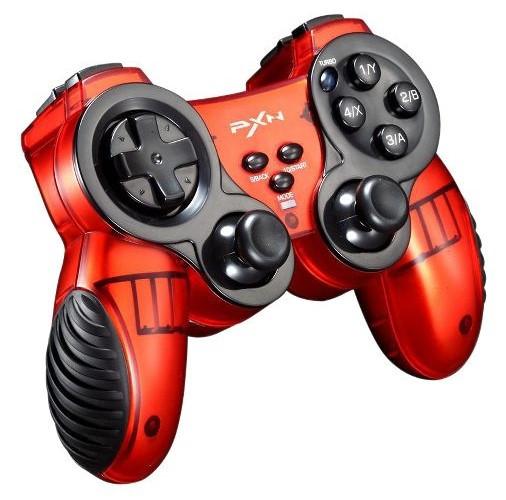 Беспроводной геймпад джойстик для мобильного телефона игровой Android,iOS,PC,XBox360 PXN-2902 красный