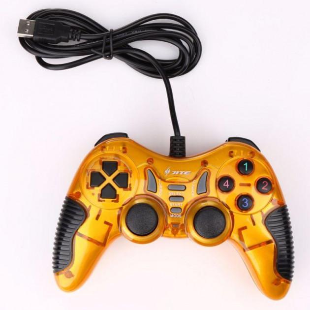 Беспроводной игровой джойстик геймпад манипулятор для телефона bluetooth DJ-900/901 TURBO оранжевый