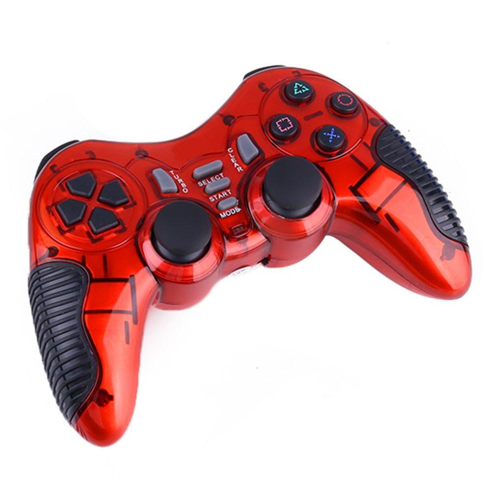 Беспроводной игровой джойстик геймпад манипулятор для телефона bluetooth DJ-900/901 TURBO красный