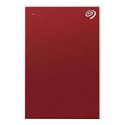 Жорсткий диск зовнішній HDD Seagate Backup Plus Slim 1TB Red (STHN1000403)