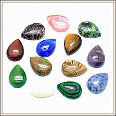 Кабошоны из Натуральных Каменей