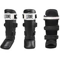 Защита голени Leone Shock Black L, фото 1