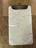 Набор ковриков для ванной комнаты и туалета Classic Smart БЕЛЫЙ, фото 1