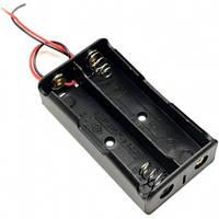 Холдер 18650 x2 з проводами