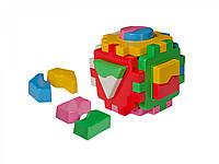 Іграшка куб Розумний малюк Логіка - 1 Умный малыш ТехноК 2452