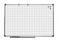 Доска магнитно-маркерная в клетку 90х120см,(UB90x120Wk)