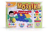 Іграшка Мозаїка для малюків 1 Игрушка Мозаика для малышей 1 80ел ТехноК 2063