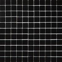 Мозаика черная стекло на сетке АА113-323312