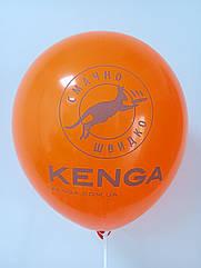 Печать на воздушных шарах  (Пример № 14)