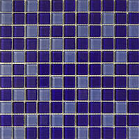 Мозаика фиолет стекло на сетке SM05-369651