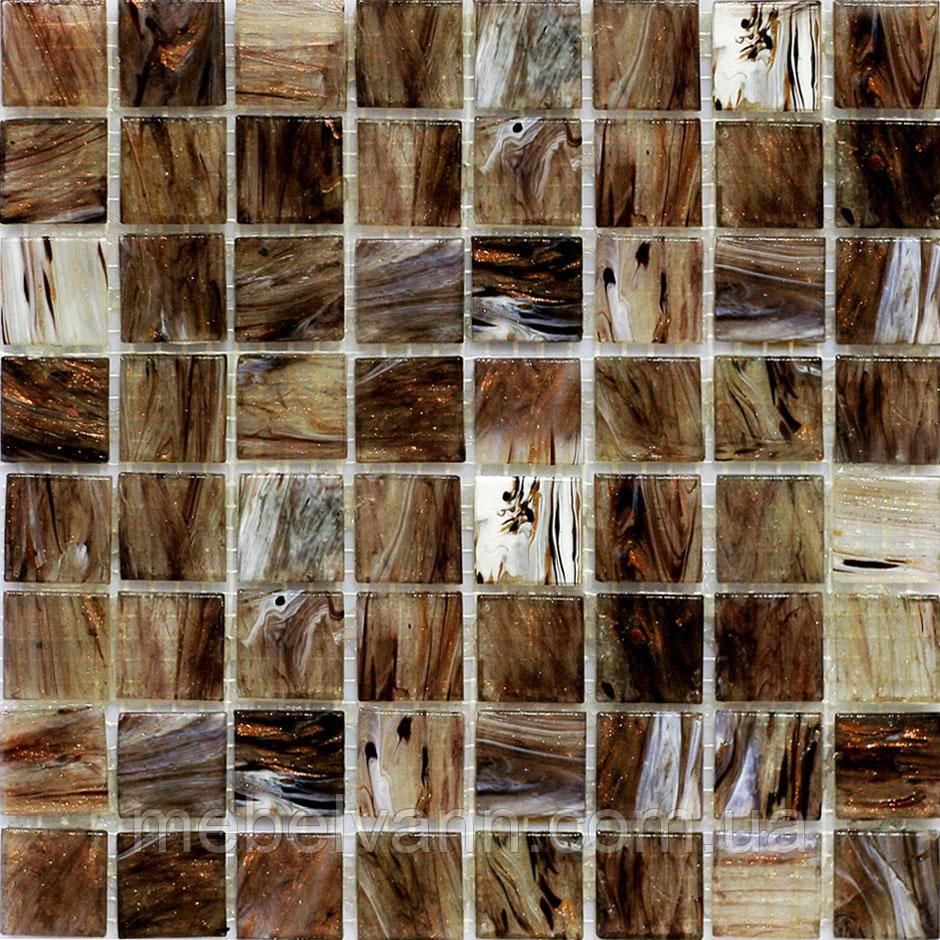 МозаикаМІХ C04 скло прозоре 2,5*2,5