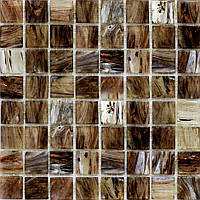 Мозаика бежево-коричневая матовая Аmetist A-409085