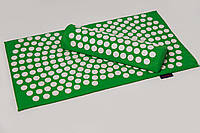 Аппликатор Кузнецова коврик и подушка (валик) Массажный массажер для спины/ног набор VMSport (vms-021)