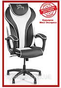 Компьютерное кресло Barsky BSD-04 Sportdrive White Arm_pad Tilt PA_designe, геймерское кресло