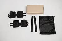 Гравитационные ботинки (инверсионные ботинки для турника) тренажер для спины VMSport Light (vms-014-2)