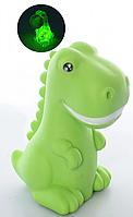 Оригинальный силиконовый Детский Ночник Динозавр 15 см