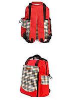 ✅ Сумка-рюкзак для мам Hello Baby Red | Розкладний пеленатор