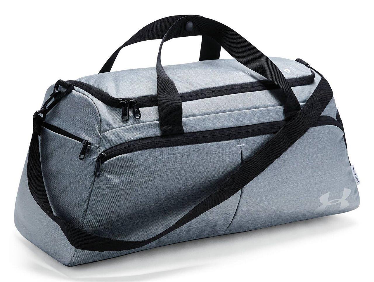 Спортивная сумка Under Armour W's Undeniable Duffle-S, серая (1306405-001)