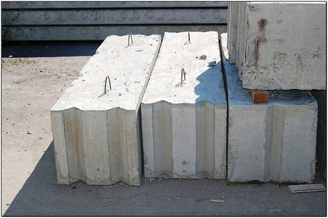 Фундаментный блок; строительные блоки; блоки ФБС Одесса куить