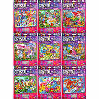 Набор для детского творчества Мозаика из кристаллов CRYSTAL MOSAIC KIDS DANKO TOYS Украина CRMk-01-01/10