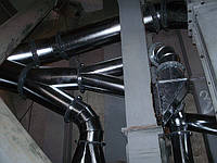 Жестяные конструкции, воздуховоды, фасонные детали