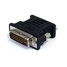 Переходник DVI-I (M) - VGA (F) TRY Plug чёрный, серый новый гарантия 12мес!