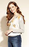 Жіноча блуза Silva Zaps сірого кольору. Колекція осінь-зима 2020-2021