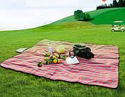 Коврик одеяло покрывало для пляжа и пикника Водонепроницаемый 150*200 см, пляжный коврик
